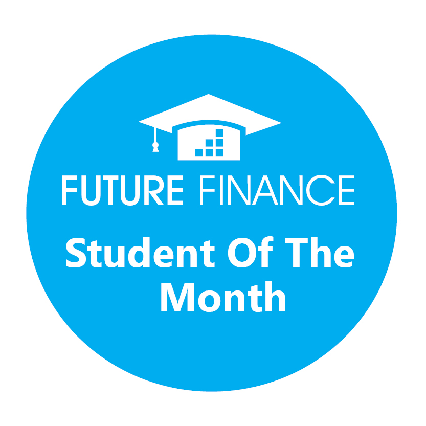 Future Finance student of the month button