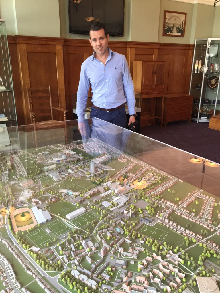 Daragh Loughborough campus Model