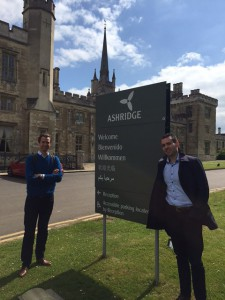 Daragh And Brian Mugging it up at Ashridge Business School. Image: Future Finance