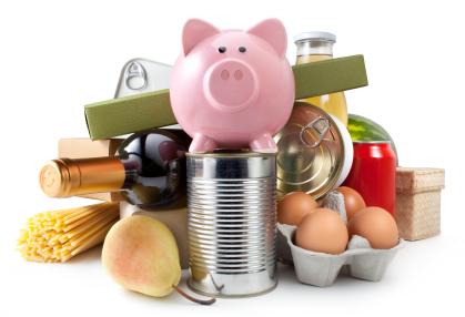 Save on groceries - piggy bank