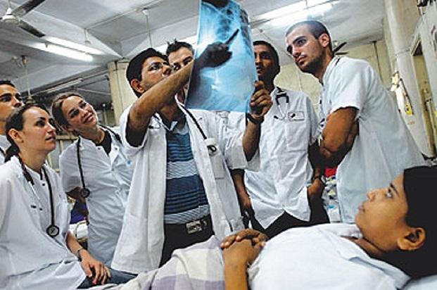 Medical school students